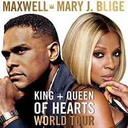 Maxwell & Mary J. Blige en concert à Paris le 16 octobre 2016 6
