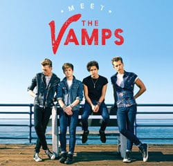 Le groupe The Vamps sort son 1er album
