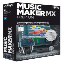 Gagnez des logiciels Magix Music Maker MX 5