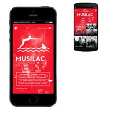 L'application Musilac débarque sur Smarphone