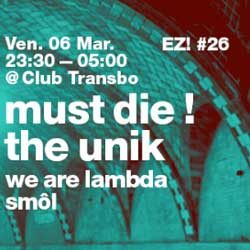 Must Die au Club Transbo le 6 mars 2015 6