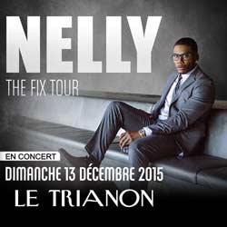 Nelly en concert le 13 décembre au Trianon 5
