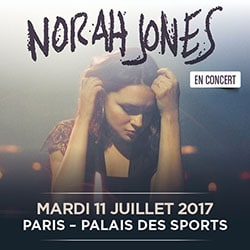 Norah Jones au Palais des Sports le 11 juillet 2017 5