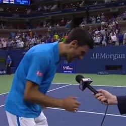 VIDEO : Novak Djokovic chante un titre de Phil Collins 5