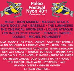 Programme Paléo Festival 2016 12