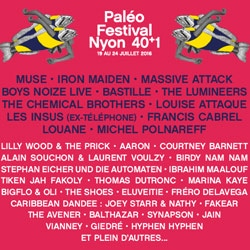 Programme Paléo Festival 2016 5