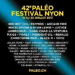 Programme complet Paléo Festival 2017 5