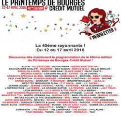 Programme Printemps de Bourges 2016 9