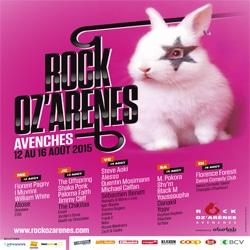 Programme Rock Oz'Arènes 2015 6