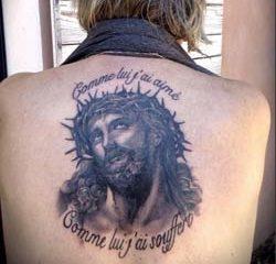 Le chanteur Renaud a le Christ dans la peau ! 14