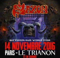 Saxon de retour en France pour une tournée 6