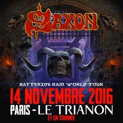 Saxon de retour en France pour une tournée 7