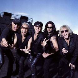 Scorpions de retour en France avec le groupe Europe 5