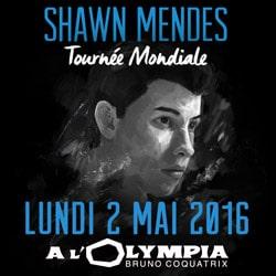 Shawn Mendes en concert le 2 mai 2016 à l'Olympia 5