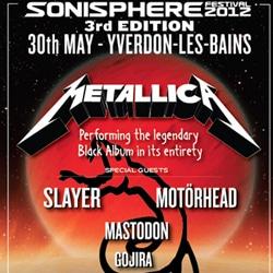 Sonisphere 2012 5