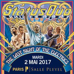 Annulation et report du concert de Status Quo 7