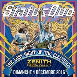 Status Quo en concert à Paris le 4 décembre 2016 5