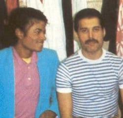 Michael Jackson Freddie Mercury 21