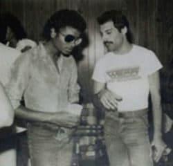 Freddie Mercury Michael Jackson 7