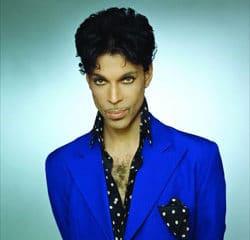 Prince en concert à Paris 9