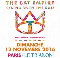 The Cat Empire en concert au Trianon 7
