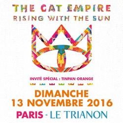 The Cat Empire en concert au Trianon 5