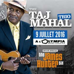 The Taj Mahal Trio à l'Olympia le 9 Juillet 2016 5