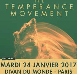 The Temperance Movement en concert au Divan du Monde 11