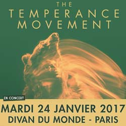 The Temperance Movement en concert au Divan du Monde 7