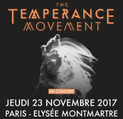 The Temperance Movement à Paris le 23 novembre 2017 6