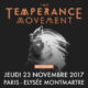 The Temperance Movement à Paris le 23 novembre 2017 7