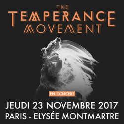 The Temperance Movement à Paris le 23 novembre 2017 6