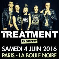 The Treatment en concert à La Boule Noire 5