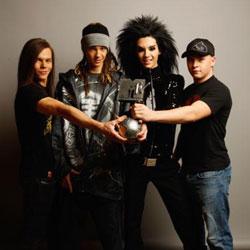 Tokio Hotel meilleur groupe des MTV Europe Music Awards 5