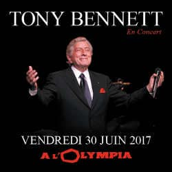Tony Bennett en concert à l'Olympia le 30 juin 2017 7