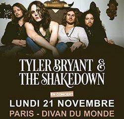 Tyler Bryant & The Shakedown en concert au Divan du Monde 10