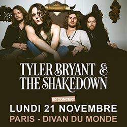 Tyler Bryant & The Shakedown en concert au Divan du Monde 5