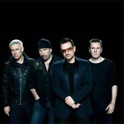 Le groupe U2 de retour à Paris 5