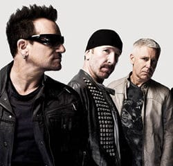 U2 en live au Grand Journal 8