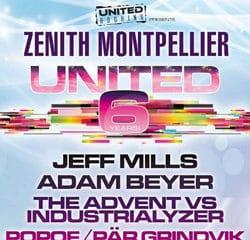 Découvrez le programme de la soirée United 6 Years 6