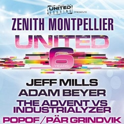 Découvrez le programme de la soirée United 6 Years 5