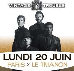 Vintage Trouble en concert au Trianon le 20 juin 2016 9