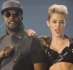 Will.i.am aux côtés de Miley Cyrus 16