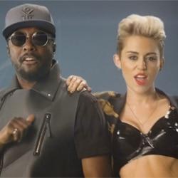 Will.i.am aux côtés de Miley Cyrus 5