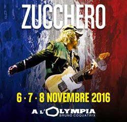 Zucchero sur la scène de l'Olympia en novembre 2016 13