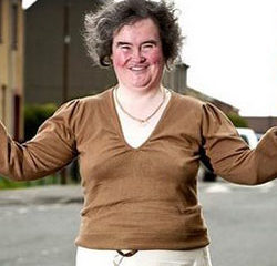 Susan Boyle plante M6 16