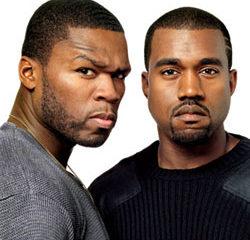 50 Cent et Kanye West sur la même scène 12