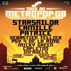 Trois questions à François Biollay, programmateur du Metropop Festival 7