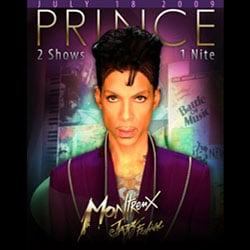 Prince au Montreux Jazz festival 5