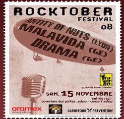 Rocktober festival Genève : 10 places à gagner. 7